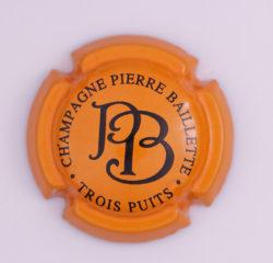 Plaque de Muselet - Champagne Baillette Pierre (N°2)