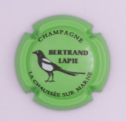 Plaque de Muselet - Champagne Bertrand Lapie (N°20)