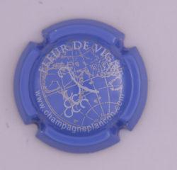 Plaque de Muselet - Champagne Plancon (N°204)