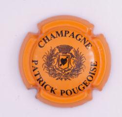 Plaque de Muselet - Champagne Pougeoise Patrick (N°208)