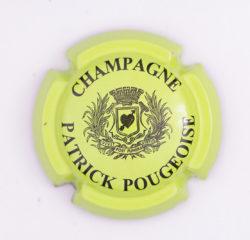 Plaque de Muselet - Champagne Pougeoise Patrick (N°209)