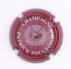 Plaque de Muselet - Champagne Pougeoise Patrick (N°210)