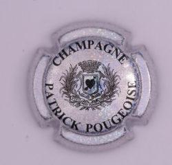Plaque de Muselet - Champagne Pougeoise Patrick (N°211)