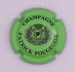 Plaque de Muselet - Champagne Pougeoise Patrick (N°212)