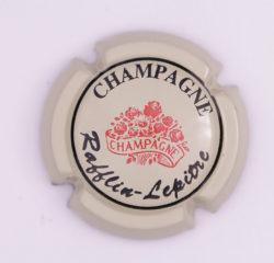 Plaque de Muselet - Champagne Rafflin – Lepitre (N°213)