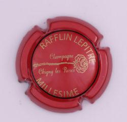 Plaque de Muselet - Champagne Rafflin – Lepitre (N°214)