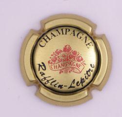 Plaque de Muselet - Champagne Rafflin – Lepitre (N°216)