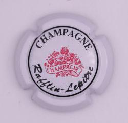 Plaque de Muselet - Champagne Rafflin – Lepitre (N°217)