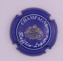Plaque de Muselet - Champagne Rafflin – Lepitre (N°218)