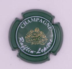 Plaque de Muselet - Champagne Rafflin – Lepitre (N°219)