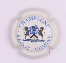 Plaque de Muselet - Champagne Ragot – Nomine (N°221)