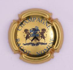 Plaque de Muselet - Champagne Ragot – Nomine (N°222)