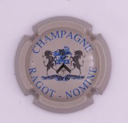 Plaque de Muselet - Champagne Ragot – Nomine (N°223)