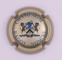Plaque de Muselet - Champagne Ragot – Nomine (N°224)