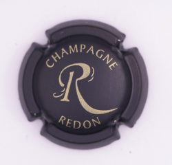 Plaque de Muselet - Champagne Redon P (N°225)