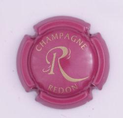 Plaque de Muselet - Champagne Redon P (N°226)