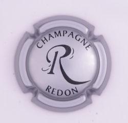 Plaque de Muselet - Champagne Redon P (N°227)