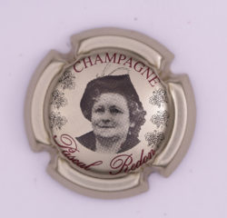 Plaque de Muselet - Champagne Redon Pascal (N°229)