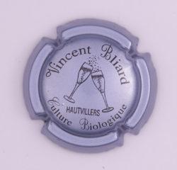 Plaque de Muselet - Champagne Bliard Vincent (N°23)