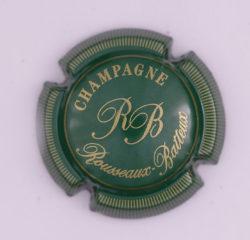 Plaque de Muselet - Champagne Rousseaux – Batteux (N°231)
