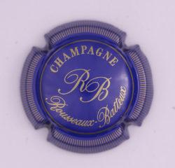 Plaque de Muselet - Champagne Rousseaux – Batteux (N°233)