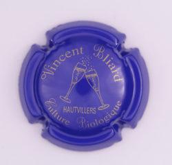 Plaque de Muselet - Champagne Bliard Vincent (N°24)