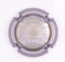 Plaque de Muselet - Champagne Schmitt M (N°241)