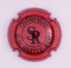 Plaque de Muselet - Champagne Schmitte – Remy.B (N°242)