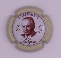 Plaque de Muselet - Champagne Sélèque (N°250)