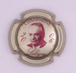Plaque de Muselet - Champagne Sélèque (N°251)