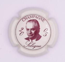 Plaque de Muselet - Champagne Sélèque (N°253)