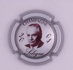Plaque de Muselet - Champagne Sélèque (N°257)
