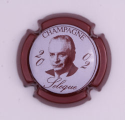 Plaque de Muselet - Champagne Sélèque (N°258)