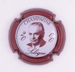Plaque de Muselet - Champagne Sélèque (N°259)