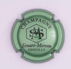 Plaque de Muselet - Champagne Simart – Moreau (N°261)