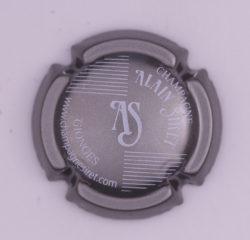 Plaque de Muselet - Champagne Siret Alain (N°263)