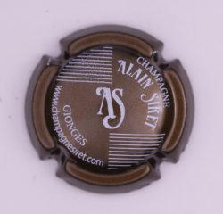 Plaque de Muselet - Champagne Siret Alain (N°264)