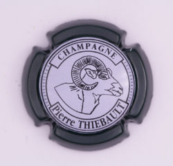 Plaque de Muselet - Champagne Thiebault Pierre (N°274)