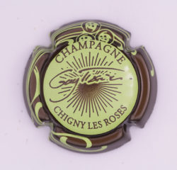 Plaque de Muselet - Champagne Tixier Guy (N°278)