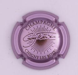 Plaque de Muselet - Champagne Tixier Guy (N°281)