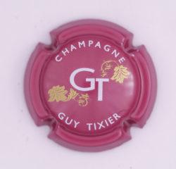 Plaque de Muselet - Champagne Tixier Guy (N°282)