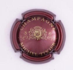 Plaque de Muselet - Champagne Tixier Michel (N°283)