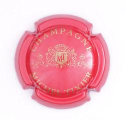 Plaque de Muselet - Champagne Tixier Michel (N°284)