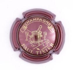 Plaque de Muselet - Champagne Tixier Paul (N°285)