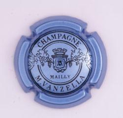 Plaque de Muselet - Champagne Vanzella .M (N°287)