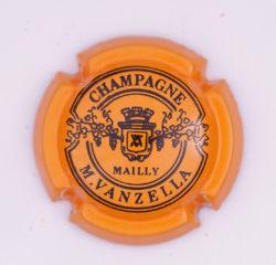 Plaque de Muselet - Champagne Vanzella .M (N°288)