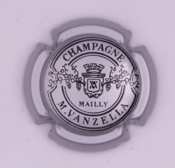 Plaque de Muselet - Champagne Vanzella .M (N°289)