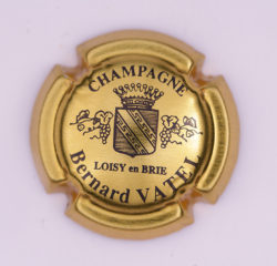 Plaque de Muselet - Champagne Vatel Bernard (N°292)