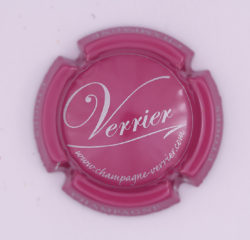 Plaque de Muselet - Champagne Verrier (N°297)