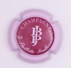 Plaque de Muselet - Champagne Baillette Prudhomme (N°3)
